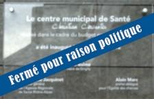 Centre municipal de santé : Xavier Odo hors la loi !