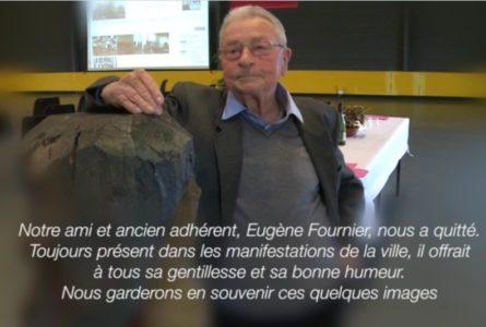 Notre ami et camarade Eugène Fournier n'est plus
