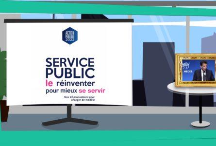 CAP 22 : plan de liquidation du service public