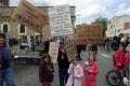 Manifestation à Grigny
