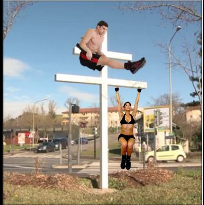 Nouvel agrès gymnastique sur Grigny